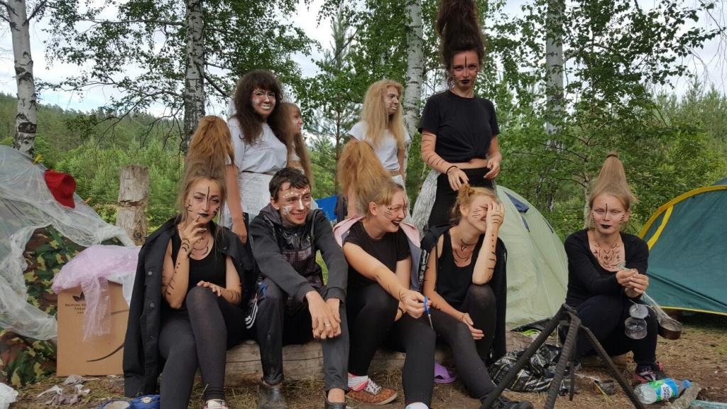 Самарские студенты на природе видео